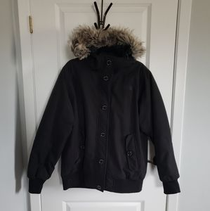 THE NORTH FACE Black Goose Down Parka Coat
